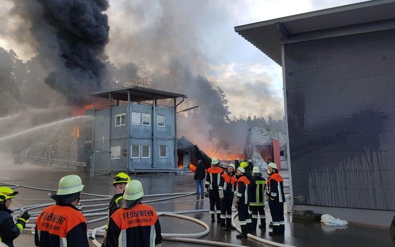 Brand in Barnsdorf