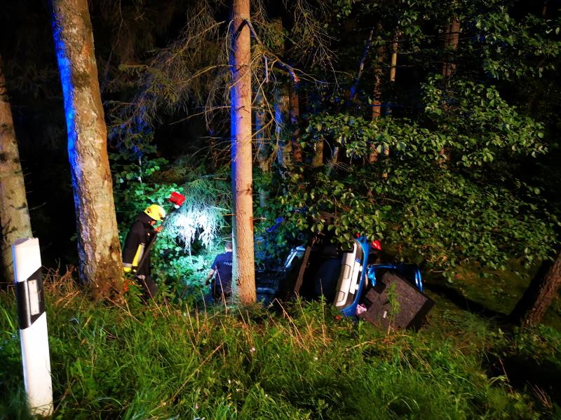 Verkehrsunfall an den Wolfsweihern