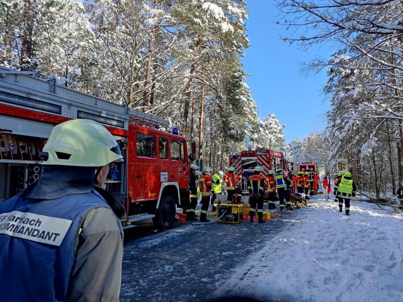 Verkehrsunfall auf RH 38